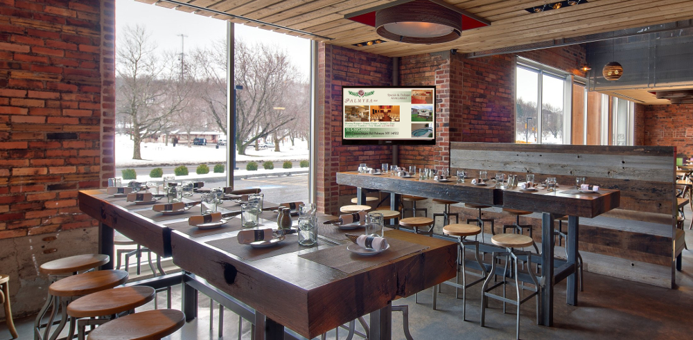 Digital Signage in Fine Dining